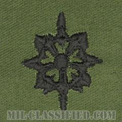 情報科章(Military Intelligence Corps)[サブデュード/兵科章/パッチ/ペア(2枚1組)]の画像
