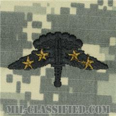 戦闘自由降下章 (ベーシック) 降下4回(Combat Military Freefall Parachutist, Basic, Four Jump)[UCP(ACU)/パッチ]の画像