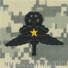 戦闘自由降下章 (マスター) 降下5回(Combat Military Freefall Parachutist, Jumpmaster, Five Jump)[UCP(ACU)/パッチ]の画像