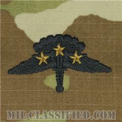 戦闘自由降下章 (ベーシック) 降下3回(Combat Military Freefall Parachutist, HALO, Basic, Three Jump)[OCP/パッチ]の画像