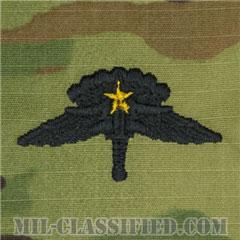 戦闘自由降下章 (ベーシック) 降下5回(Combat Military Freefall Parachutist, HALO, Basic, Five Jump)[OCP/パッチ]の画像