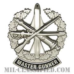 マスター砲手 (マスターガンナー)(Master Gunner)[カラー/鏡面仕上げ/バッジ]の画像