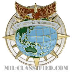 インド太平洋軍(Indo-Pacific Command)[カラー/鏡面仕上げ/バッジ]の画像