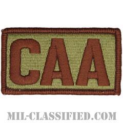 CAA(戦闘航空顧問)(Combat Aviation Advisor)[OCP/メロウエッジ/ベルクロ付パッチ]の画像