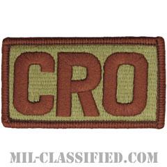 CRO(戦闘捜索救難将校)(Combat Rescue Officer)[OCP/メロウエッジ/ベルクロ付パッチ]の画像