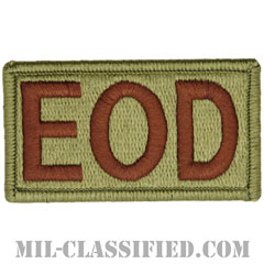 EOD(爆発物処理班)(Explosive Ordnance Disposal)[OCP/メロウエッジ/ベルクロ付パッチ]の画像