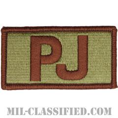 PJ(戦闘捜索救難員/パラレスキュー)(Pararescue)[OCP/メロウエッジ/ベルクロ付パッチ]の画像
