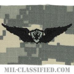 航空機搭乗員章 (ベーシック・エアクルー)(Army Aviation Badge (Aircrew), Basic)[UCP(ACU)/パッチ]の画像