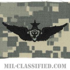 航空機搭乗員章 (シニア・エアクルー)(Army Aviation Badge (Aircrew), Senior)[UCP(ACU)/パッチ]の画像