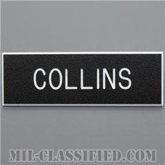 COLLINS [アメリカ陸軍用ネームプレート(名札)]の画像