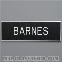 BARNES [アメリカ陸軍用ネームプレート(名札)]の画像