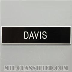 DAVIS [アメリカ海軍用ネームプレート(名札)]画像