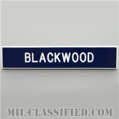 BLACKWOOD [アメリカ空軍用ネームプレート(名札)]の画像