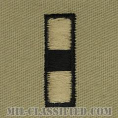 准尉 (CWO-3)(Chief Warrant Officer 3)[デザート/海軍階級章/生地テープパッチ/ペア(2枚1組)]の画像