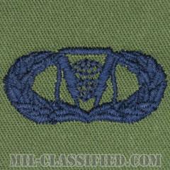 指揮統制章 (ベーシック)(Command and Control Badge, Basic)[サブデュード/ブルー刺繍/パッチ]の画像