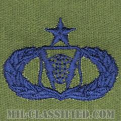 指揮統制章 (シニア)(Command and Control Badge, Senior)[サブデュード/ブルー刺繍/パッチ]の画像