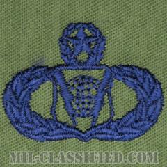 指揮統制章 (マスター)(Command and Control Badge, Master)[サブデュード/ブルー刺繍/パッチ]の画像