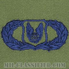 作戦支援章 (ベーシック)(Operations Support Badge, Basic)[サブデュード/ブルー刺繍/パッチ]の画像