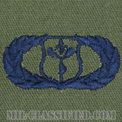 気象章 (ベーシック)(Meteorologist Badge, Basic)[サブデュード/ブルー刺繍/パッチ]の画像