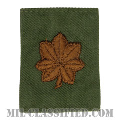 少佐(Major (MAJ))[サブデュード(Subdued)/ゴアテックスパーカー用スライドオン空軍階級章]の画像
