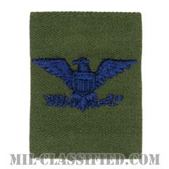 大佐(Colonel (COL))[サブデュード(Subdued)/ゴアテックスパーカー用スライドオン空軍階級章]の画像