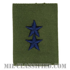 少将(Major General (MG))[サブデュード(Subdued)/ゴアテックスパーカー用スライドオン空軍階級章]の画像