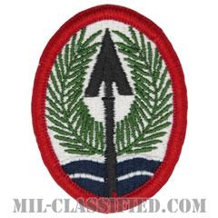 イラク多国籍軍団(Multi-National Corps-Iraq)[カラー/メロウエッジ/パッチ]の画像