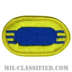 第504空挺歩兵連隊第3大隊(3rd Battalion, 504th Parachute Infantry Regiment)[カラー/メロウエッジ/オーバルパッチ]の画像