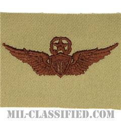 飛行士章 (マスター・パイロット)(Army Aviator (Pilot), Master)[デザート/パッチ]の画像