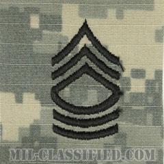 曹長(Master Sergeant (MSG))[UCP(ACU)/階級章/キャップ用縫い付けパッチ]の画像