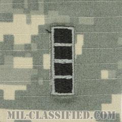 准尉 (CW4)(Chief Warrant Officer 4)[UCP(ACU)/階級章/キャップ用縫い付けパッチ]の画像