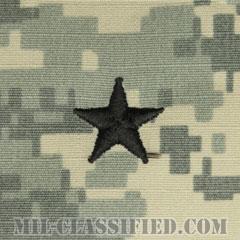 准将(Brigadier General (BG))[UCP(ACU)/階級章/キャップ用縫い付けパッチ]の画像