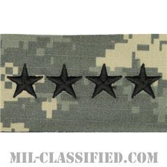 大将(General (GEN))[UCP(ACU)/階級章/キャップ用縫い付けパッチ]の画像