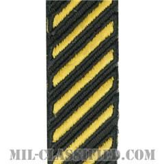 年功章(Service Stripe)[カラー(グリーン)/カットエッジ/女性用(-1996)/パッチ]の画像