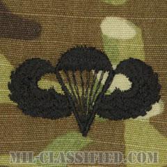 空挺章 (ベーシック)(Parachutist Badge, Basic)[OCP/パッチ]の画像