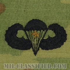 戦闘空挺章 (ベーシック) 降下1回(Combat Parachutist Badge, Basic, One Jump)[OCP/パッチ]の画像