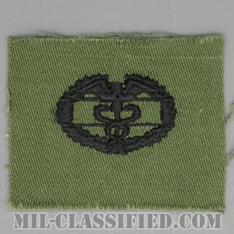戦闘医療章 (ファースト)(Combat Medical Badge (CMB), First Award)[サブデュード/1960s/コットン100%/パッチ]の画像