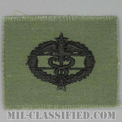 戦闘医療章 (サード)(Combat Medical Badge (CMB), Third Award)[サブデュード/1960s/コットン100%/パッチ]の画像