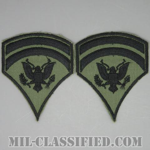 特技兵 (SP6)(Specialist 6)[サブデュード/カットエッジ/階級章/パッチ/ペア(2枚1組)]の画像
