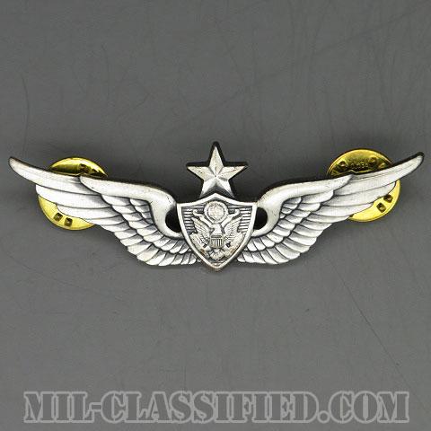 航空機搭乗員章 (シニア・エアクルー)(Aviation Badge (Aircrew), Senior)[カラー/1960s/燻し銀(銀張り・Silver Filled)/バッジ/中古1点物]の画像