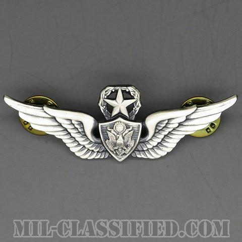 航空機搭乗員章 (マスター・エアクルー)(Aviation Badge (Aircrew), Master)[カラー/1960s/燻し銀(銀張り・Silver Filled)/バッジ/中古1点物]の画像