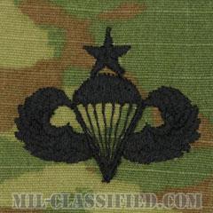 空挺章 (シニア)(Parachutist Badge, Senior, Senior)[OCP/パッチ]の画像