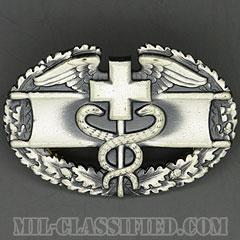 戦闘医療章 (ファースト)(Combat Medical Badge (CMB), First Award)[カラー/1960s/燻し銀(銀張り・Silver Filled)/バッジ/中古1点物]の画像
