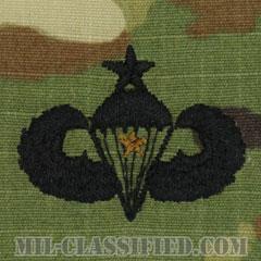 戦闘空挺章 (シニア) 降下1回(Combat Parachutist Badge, Senior, One Jump)[OCP/パッチ]の画像