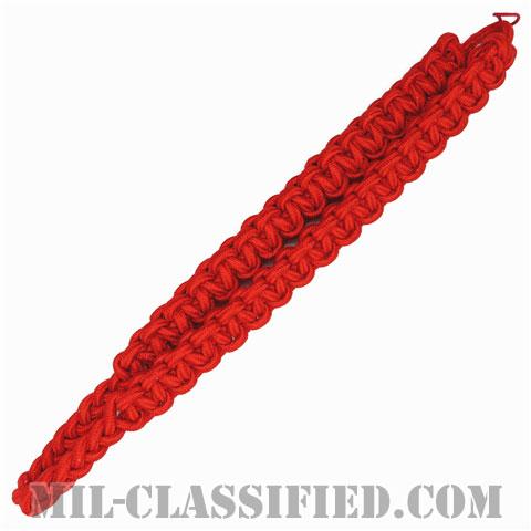 海軍新兵部隊指揮官/陸軍砲兵科レッドショルダーコード(Recruit Division Commander/Artillery Red Cord)[フラジェール・ショルダーコード(飾緒)]の画像