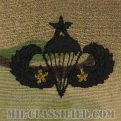 戦闘空挺章 (シニア) 降下2回(Combat Parachutist Badge, Senior, Two Jump)[OCP/パッチ]の画像