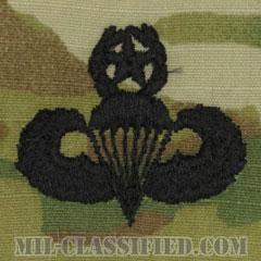 空挺章 (マスター)(Parachutist Badge, Master, Master)[OCP/パッチ]の画像