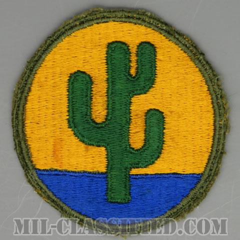 第103歩兵師団(103rd Infantry Division)[カラー/カットエッジ/パッチ/中古1点物]の画像
