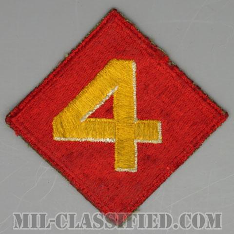 第4海兵師団(4th Marine Division)[カラー/カットエッジ/パッチ/中古1点物]の画像