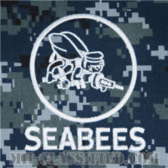 Naval Construction Battalion (Seabee)[NWU Type1/パッチ(ポケット)]の画像